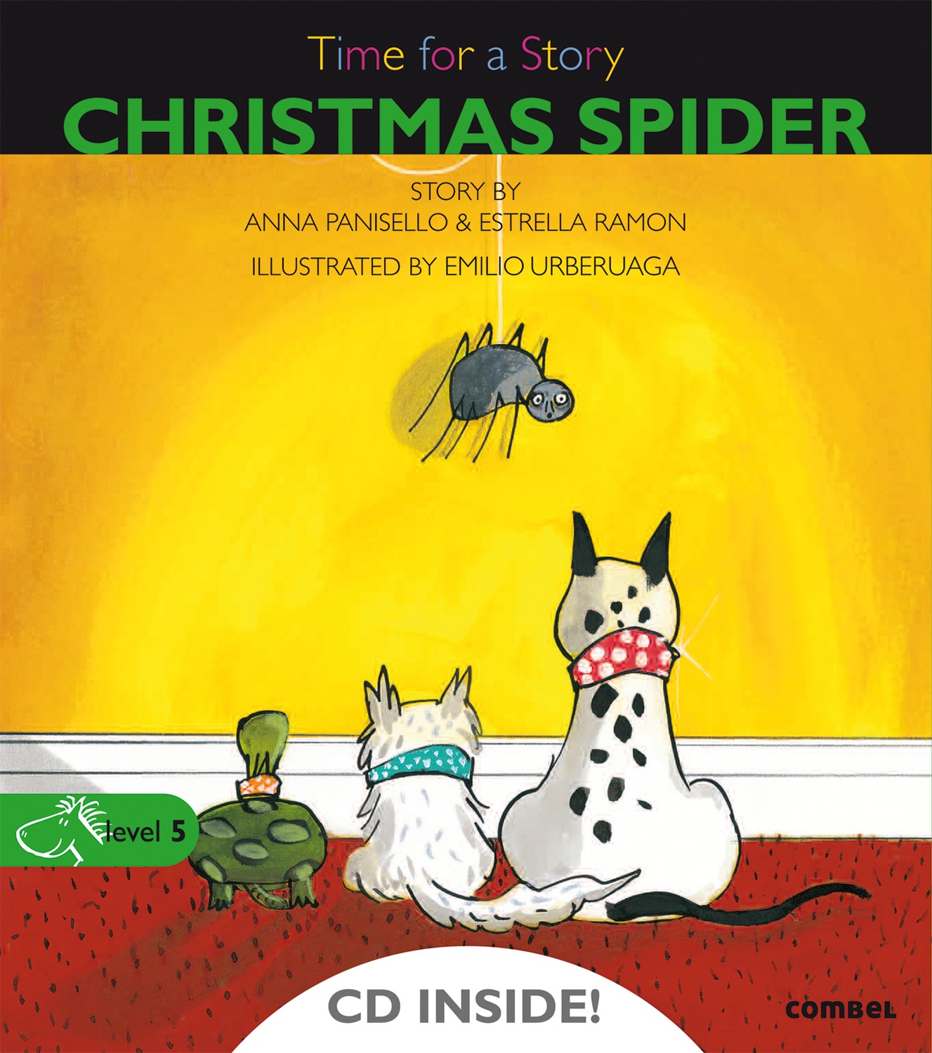 58059-CHRISTMAS-SPIDER-5INCH